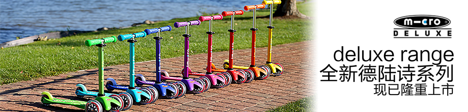 德陆诗系列滑板车
