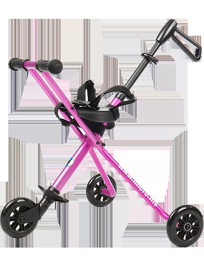 瑞士米高德陆诗婴儿手推车粉色-TR0004