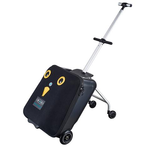 【明星同款】瑞士m-cro迈古滑板车懒行李箱 可折叠收纳 家庭旅行拉杆箱 儿童推车可上飞机