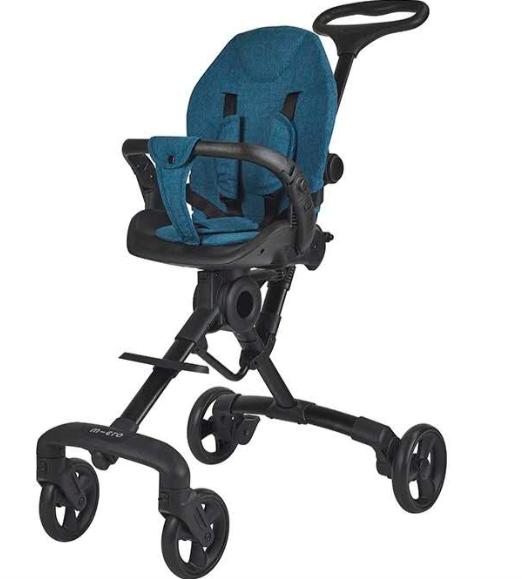 【新品上市】瑞士m-cro迈古散步车遛娃神器超轻便可折叠儿童手推车宝宝双向婴儿车可坐黑色坐垫 散步车黑色