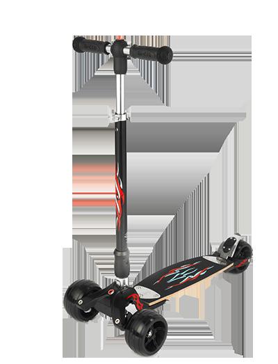 瑞士米高魔鬼冲浪款成人代步三轮滑板车 KB0022