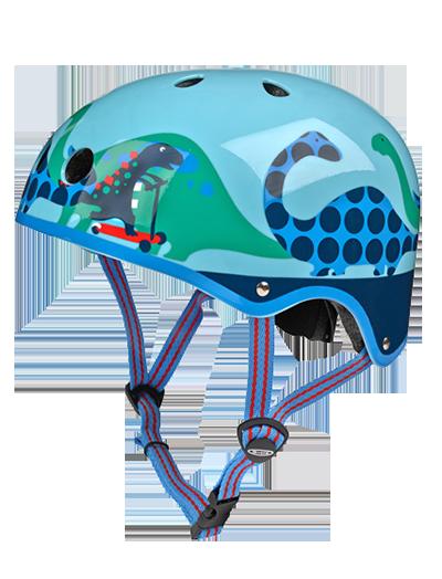 瑞士m-cro迈古滑板车专用儿童头盔 恐龙款