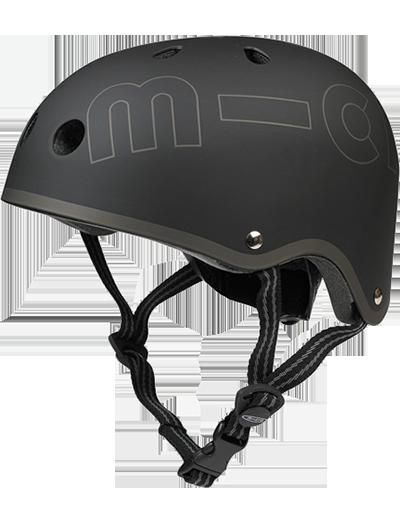 瑞士m-cro迈古滑板车专用儿童头盔 黑色款