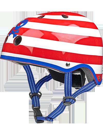 瑞士m-cro迈古滑板车专用儿童头盔骷髅头款