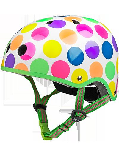 瑞士m-cro迈古滑板车专用儿童头盔波点款
