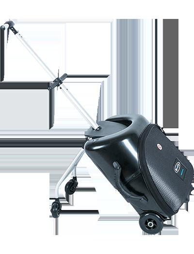 瑞士m-cro迈古懒人行李箱黑色 ML0011